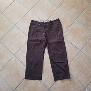 Maurices Denim Capris